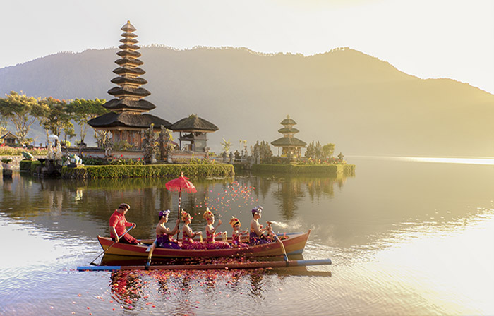 Guided tours in Bali from Suara Air hotel