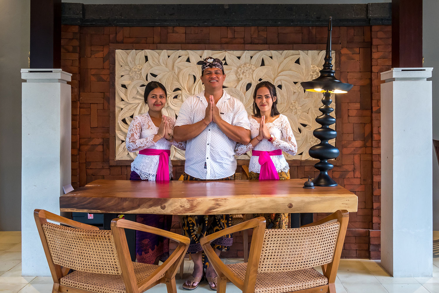 welcome to our hotel in bali